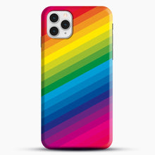 Load image into Gallery viewer, Rainbow iPhone 11 Pro Case, Snap Case | Webluence.com