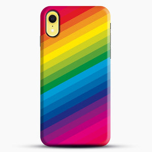 Rainbow iPhone XR Case, Snap Case | Webluence.com