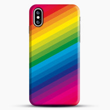 Load image into Gallery viewer, Rainbow iPhone XS Max Case, Snap Case | Webluence.com