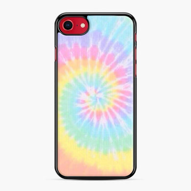 Rainbow tie dye iPhone 7/8 Case, Black Plastic Case | Webluence.com