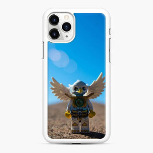 Ready For Take Off Lego iPhone 11 Pro Max Case, White Rubber Case
