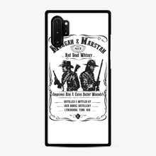 Load image into Gallery viewer, Red Dead Whisky Samsung Galaxy Note 10 Plus Case, Black Rubber Case