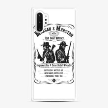 Load image into Gallery viewer, Red Dead Whisky Samsung Galaxy Note 10 Plus Case, White Rubber Case