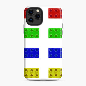 Red Green Yellow And Blue Lego iPhone 11 Pro Case, Snap Case