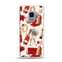 Load image into Gallery viewer, Red Is Love 1 Samsung Galaxy S9 Case, White Rubber Case | Webluence.com