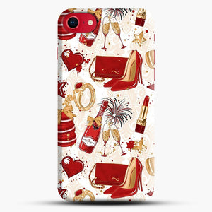 Red Is Love 1 iPhone 7/8 Case.jpg, Snap Case | Webluence.com