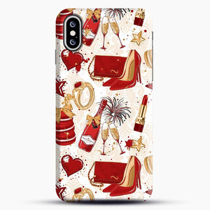 Red Is Love 1 iPhone XS Max Case, Snap Case | Webluence.com