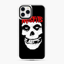 Load image into Gallery viewer, Red Skull Logo iPhone 11 Pro Case, White Plastic Case | Webluence.com