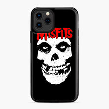 Load image into Gallery viewer, Red Skull Logo iPhone 11 Pro Case, Black Plastic Case | Webluence.com