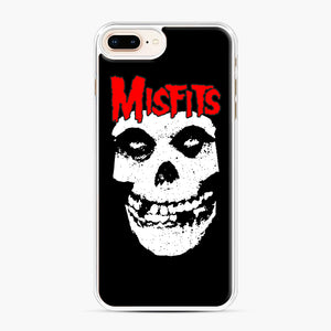 Red Skull Logo iPhone 7,8 Plus Case, White Plastic Case | Webluence.com