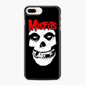 Red Skull Logo iPhone 7,8 Plus Case, Black Plastic Case | Webluence.com