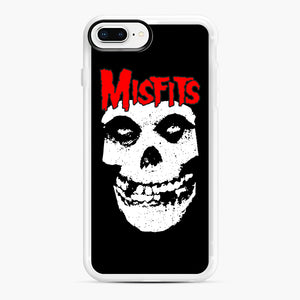 Red Skull Logo iPhone 7,8 Plus Case, White Rubber Case | Webluence.com