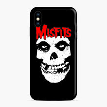 Load image into Gallery viewer, Red Skull Logo iPhone XS Max Case, Snap Case | Webluence.com