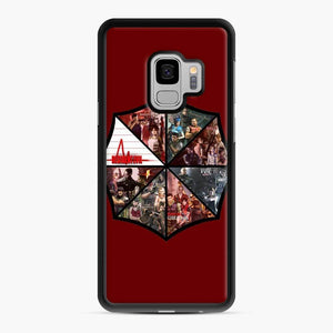 Resident Evil 1 Samsung Galaxy S9 Case, Black Rubber Case