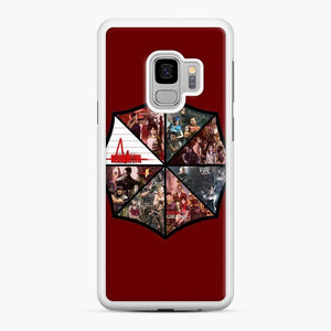 Resident Evil 1 Samsung Galaxy S9 Case, White Rubber Case