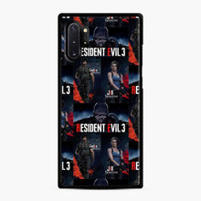 Load image into Gallery viewer, Resident Evil 3 Remake 3 Figure Samsung Galaxy Note 10 Plus Case, Black Rubber Case