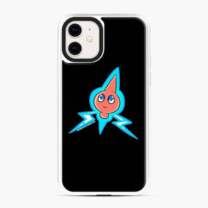 Rotom 3 iPhone 11 Case, White Plastic Case