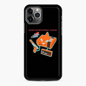 Rotom Entertainment System iPhone 11 Pro Case, Black Rubber Case