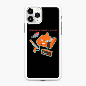 Rotom Entertainment System iPhone 11 Pro Case, White Rubber Case