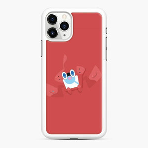 Rotom Squad logo 13 iPhone 11 Pro Case, White Rubber Case