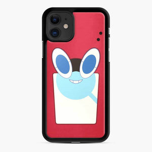 Rotom Squad logo 15 iPhone 11 Case, Black Rubber Case