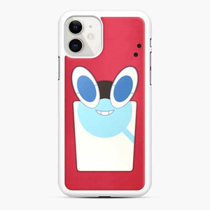 Rotom Squad logo 15 iPhone 11 Case, White Rubber Case