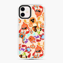 Load image into Gallery viewer, Rotom Squad logo 5 iPhone 11 Case, White Plastic Case
