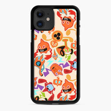Load image into Gallery viewer, Rotom Squad logo 5 iPhone 11 Case, Black Rubber Case
