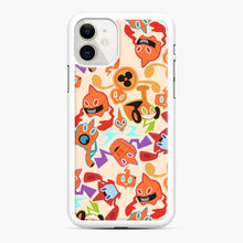 Load image into Gallery viewer, Rotom Squad logo 5 iPhone 11 Case, White Rubber Case