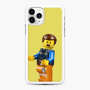 Rough Times B O I Lego iPhone 11 Pro Case, White Rubber Case