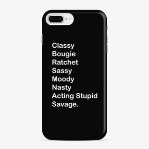 Savage Design Iv Classy Bougie Ratchet iPhone 7 Plus / 8 Plus Case
