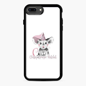 Savage Inspired Classy Bougie Ratchet Cute Mouse iPhone 7 Plus / 8 Plus Case