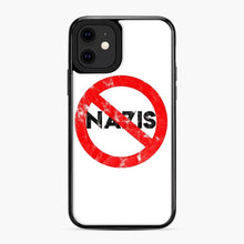 Load image into Gallery viewer, Say No To Nazis (Weathered iPhone 11 Case, Black Plastic Case