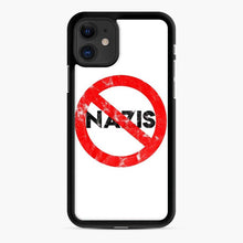 Load image into Gallery viewer, Say No To Nazis (Weathered iPhone 11 Case, Black Rubber Case