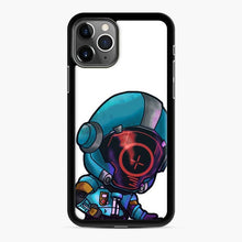 Load image into Gallery viewer, Secret Skin Fortnite iPhone 11 Pro Case, Black Rubber Case
