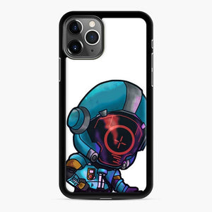 Secret Skin Fortnite iPhone 11 Pro Case, Black Rubber Case