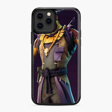 Load image into Gallery viewer, Skin Fortnite iPhone 11 Pro Case, Black Plastic Case
