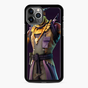 Skin Fortnite iPhone 11 Pro Case, Black Rubber Case