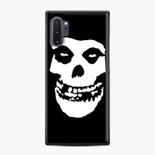 Load image into Gallery viewer, Skull Logo Samsung Galaxy Note 10 Plus Case, Black Plastic Case | Webluence.com