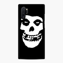 Load image into Gallery viewer, Skull Logo Samsung Galaxy Note 10 Plus Case, Black Rubber Case | Webluence.com