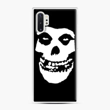 Load image into Gallery viewer, Skull Logo Samsung Galaxy Note 10 Plus Case, White Plastic Case | Webluence.com
