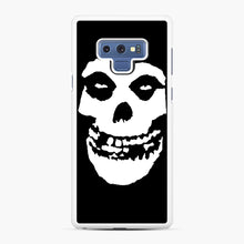 Load image into Gallery viewer, Skull Logo Samsung Galaxy Note 9 Case, White Rubber Case | Webluence.com
