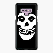 Load image into Gallery viewer, Skull Logo Samsung Galaxy Note 9 Case, Black Plastic Case | Webluence.com
