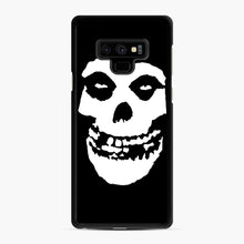 Load image into Gallery viewer, Skull Logo Samsung Galaxy Note 9 Case, Black Rubber Case | Webluence.com