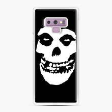 Load image into Gallery viewer, Skull Logo Samsung Galaxy Note 9 Case, White Plastic Case | Webluence.com