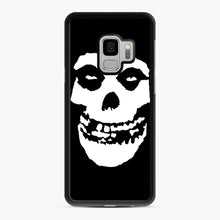 Load image into Gallery viewer, Skull Logo Samsung Galaxy S9 Case, Black Rubber Case | Webluence.com