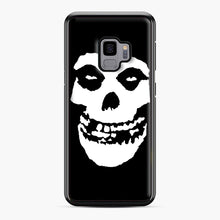 Load image into Gallery viewer, Skull Logo Samsung Galaxy S9 Case, Black Plastic Case | Webluence.com