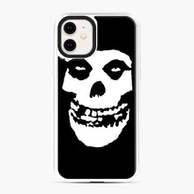 Load image into Gallery viewer, Skull Logo iPhone 11 Case, White Plastic Case | Webluence.com