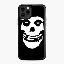 Load image into Gallery viewer, Skull Logo iPhone 11 Pro Case, Black Plastic Case | Webluence.com
