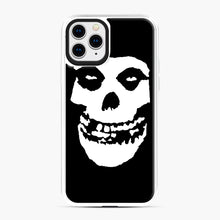 Load image into Gallery viewer, Skull Logo iPhone 11 Pro Case, White Plastic Case | Webluence.com
